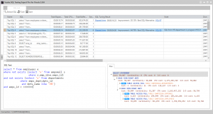 SQL captured from SGA