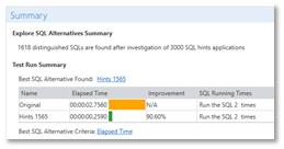 sql query optimization tool